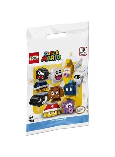 Lego Legosuşer Mario# Karakter Şaketleri 71361 Yaşım Seti Renkli